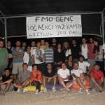 I. FMO-GENÇ ÖĞRENCİ YAZ KAMPI YAPILDI