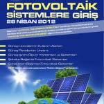"""""""Fotovoltaik Sistemlere Giriş""""  Eğitimi"""